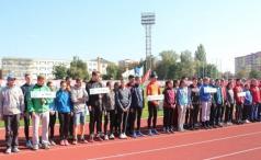 Легкоатлетичний чемпіонат відбувся на стадіоні «Авангард»