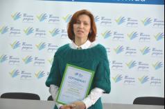 Людмила Ковальчук: «Успіх завжди надихає на подальші дії»