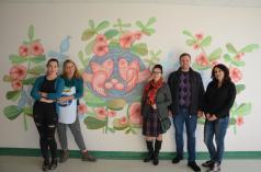Волинські художники оживили стіни перинатального центру