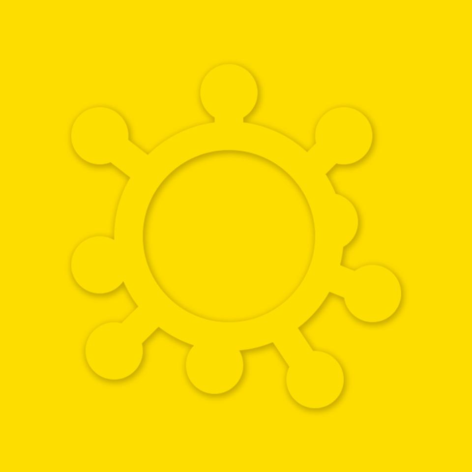 Логотип Вірус позитиву