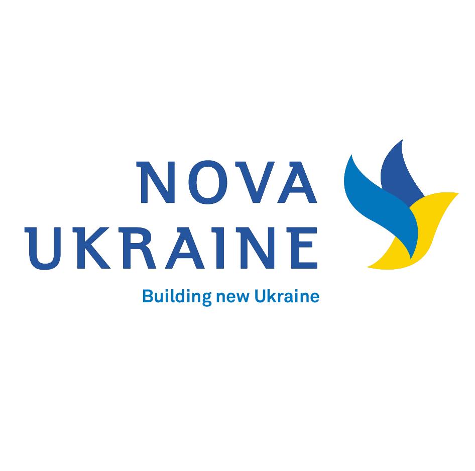 Логотип Nova Ukraine
